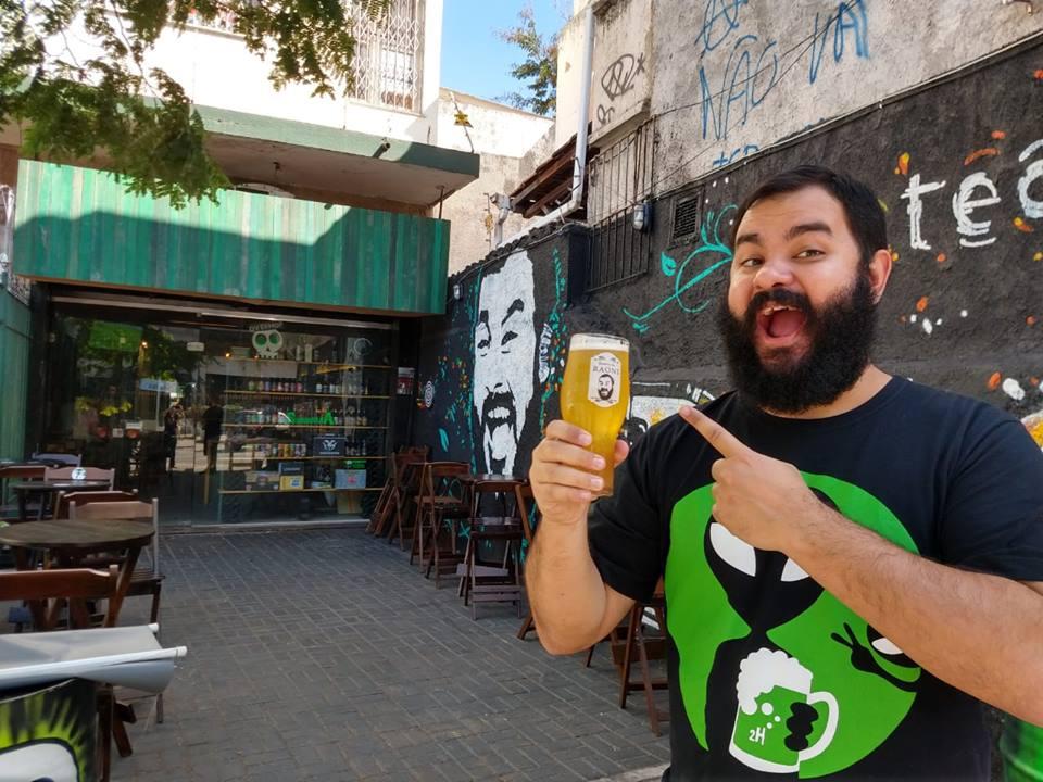 Boteco do Raoni. Um dos famosos bares de cerveja artesanal no Rio de Janeiro