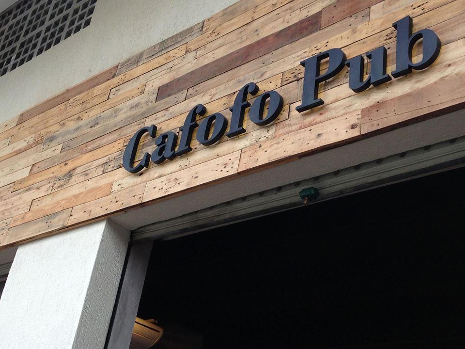 Cafofo Pub.