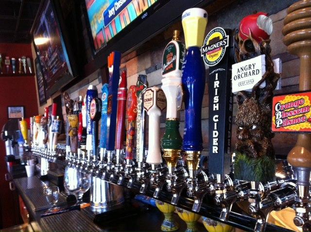 O Nona Taproom é um dos bares de cerveja artesanal em Orlando que possui mais cervejas On Tap.