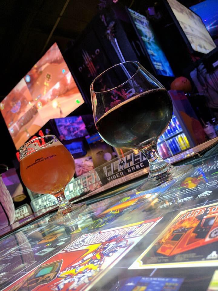 Player 1 Video Game Bar é um dos bares de cerveja artesanal em Orlando mais legais.