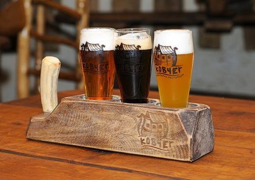 Cervejas artesanais em Ternopil.