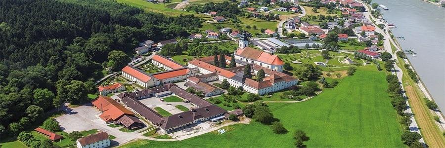 Monastério de uma das cervejas trapistas: a Stift Engelszell.