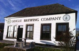 dingle Brewing Company que produz a cerveja artesanal Tom Crean's em Dingle, Irlanda.