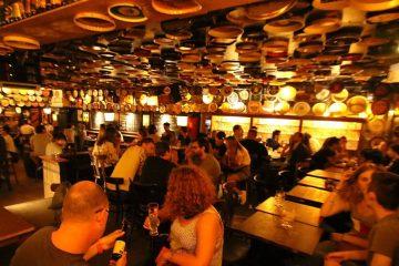 Delirium Café em Bruxelas.