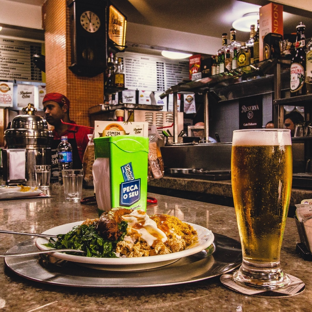 Kaol do Café Palhares em Belo Horizonte.