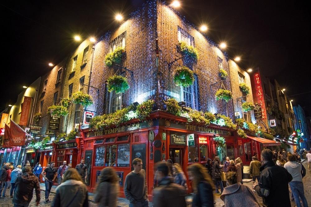 Melhores pubs de Dublin.