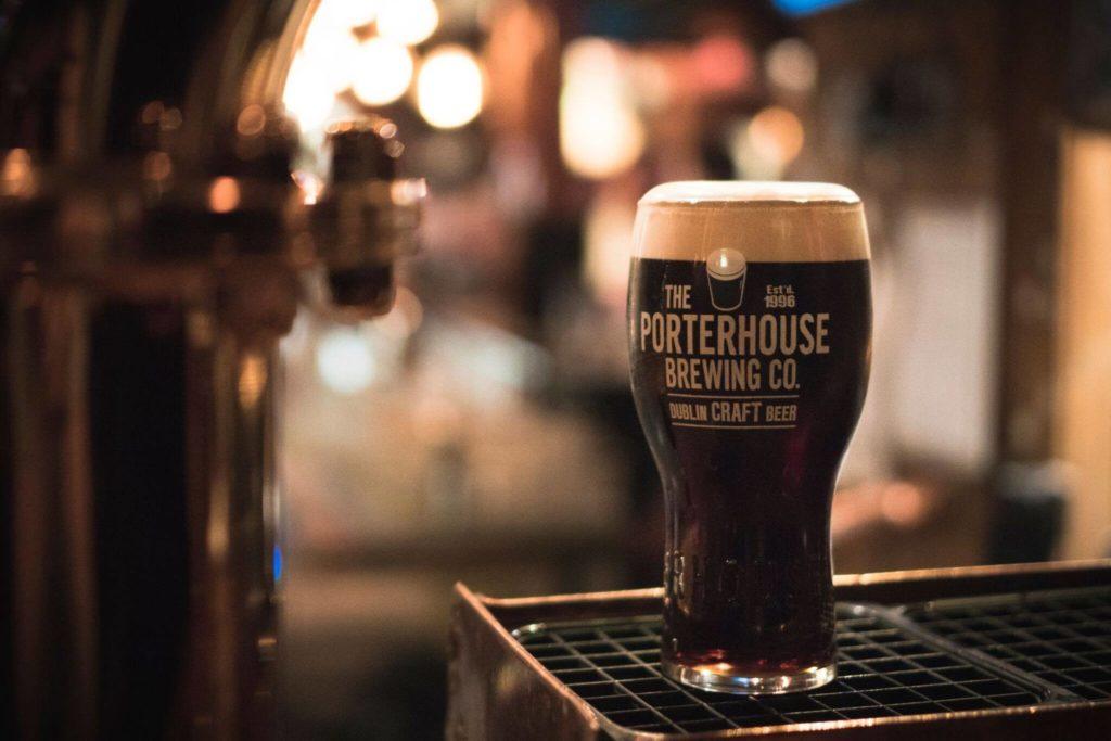 Cerveja Plain Porter do Porterhouse Temple Bar.