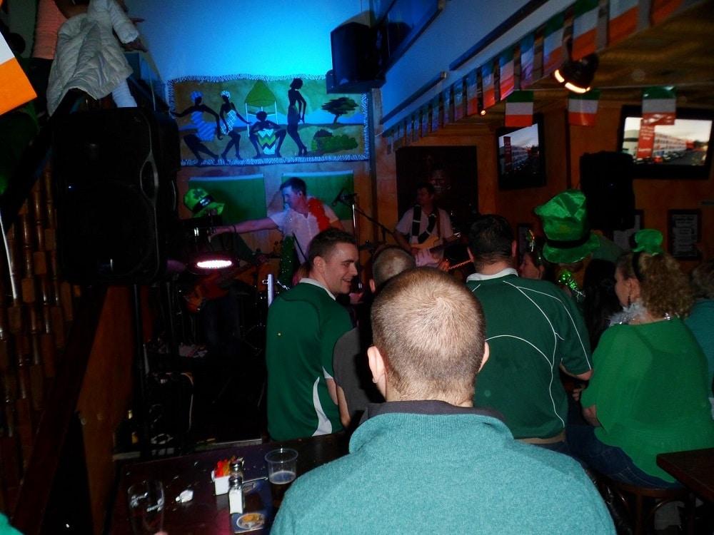Pub no St. Patrick Day.