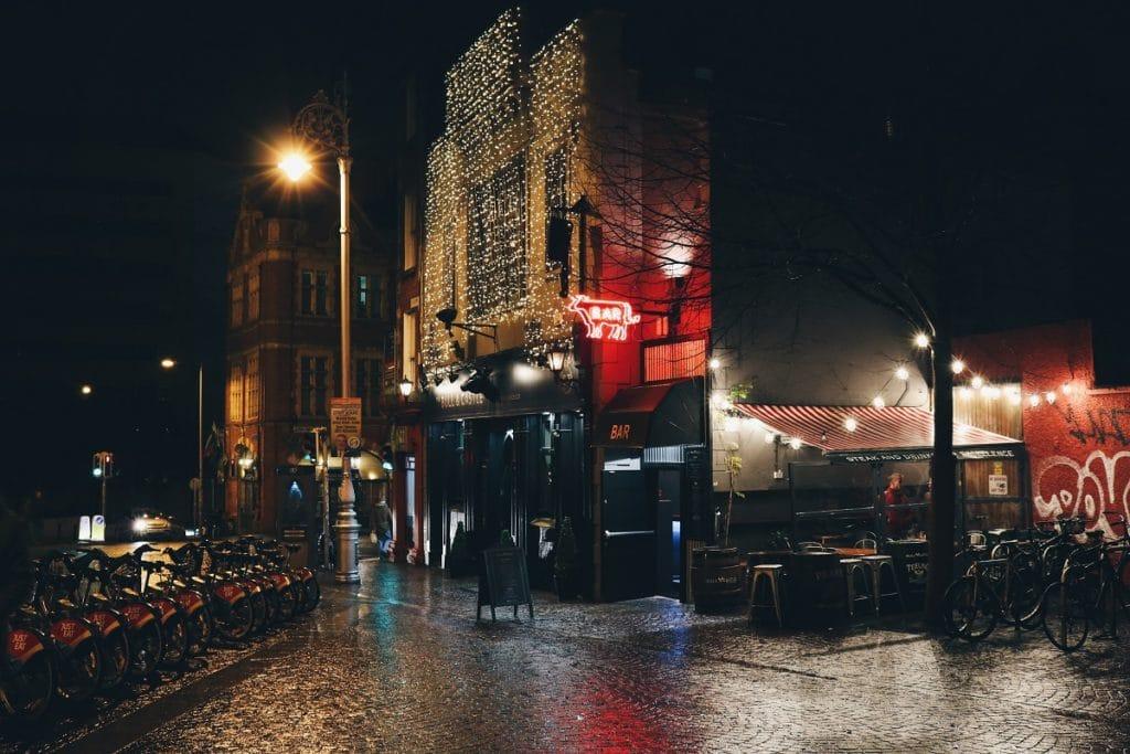 Alguns dos melhores pubs de Dublin.