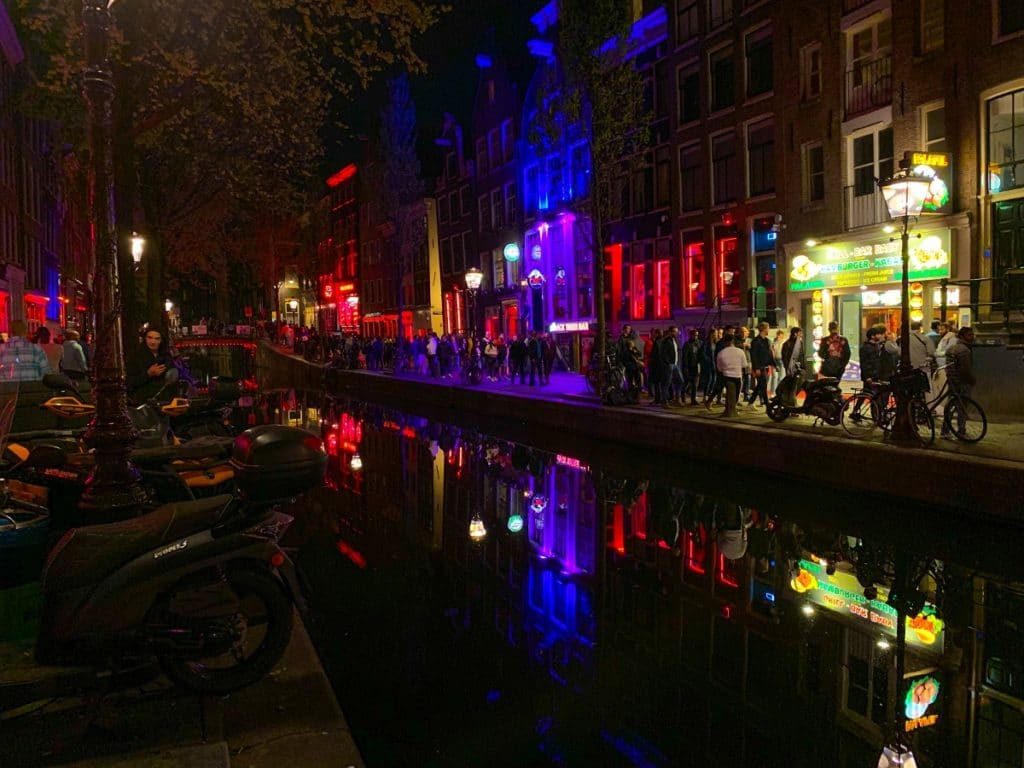 Canal no Red Light District.