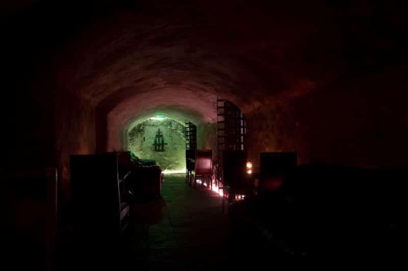 Banshee Labyrinth é um dos bares em Edimburgo famoso por ser mal-assombrado.