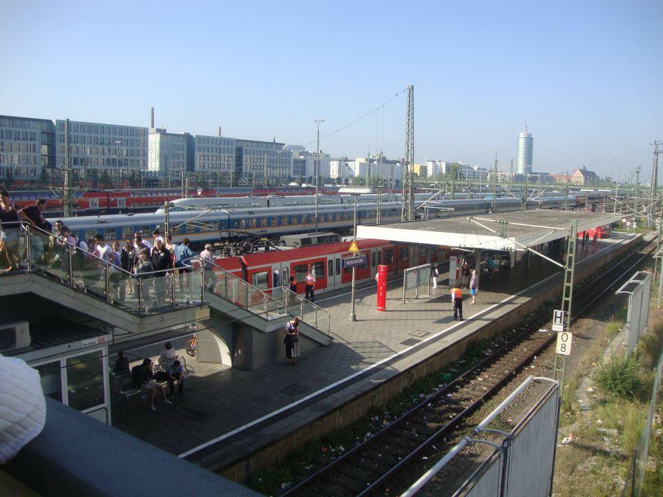 Estação Hackerbrücke.