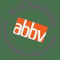 Selo ABBV - Associação Brasileira de Blogs de Viagem.