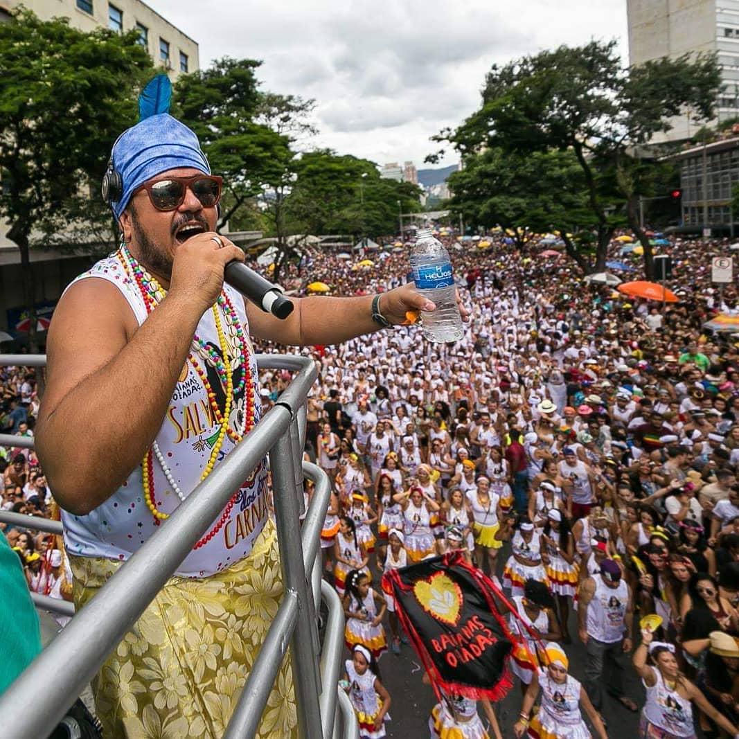 Bloco Baianas Ozadas no carnaval de Belo Horizonte
