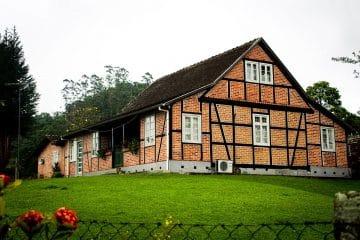 Casa em examel típica de Pomerode.