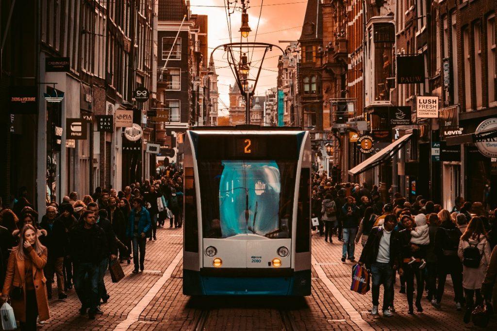 Centro de Amsterdam.