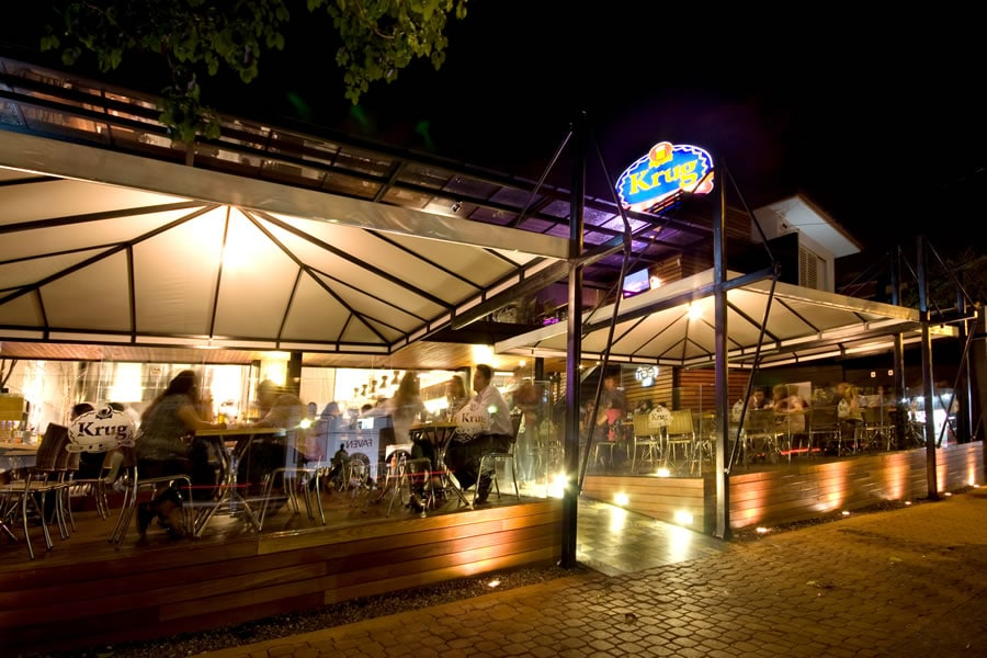 Choperia Krug Bier é uma das primeiras choperias a oferecer cerveja artesanal em Belo Horizonte.