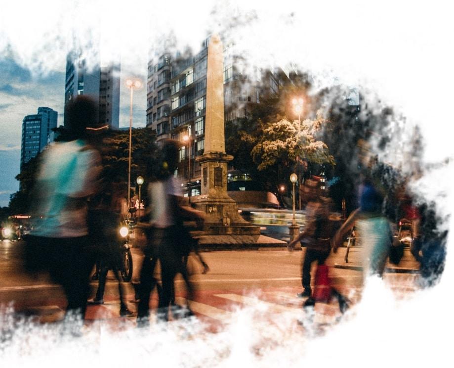 Obelisco da Praça 7 em Belo Horizonte