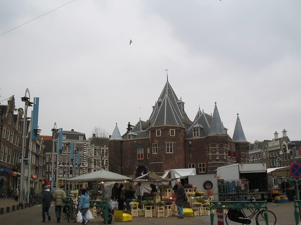 De Waag no Nieuwemarkt.