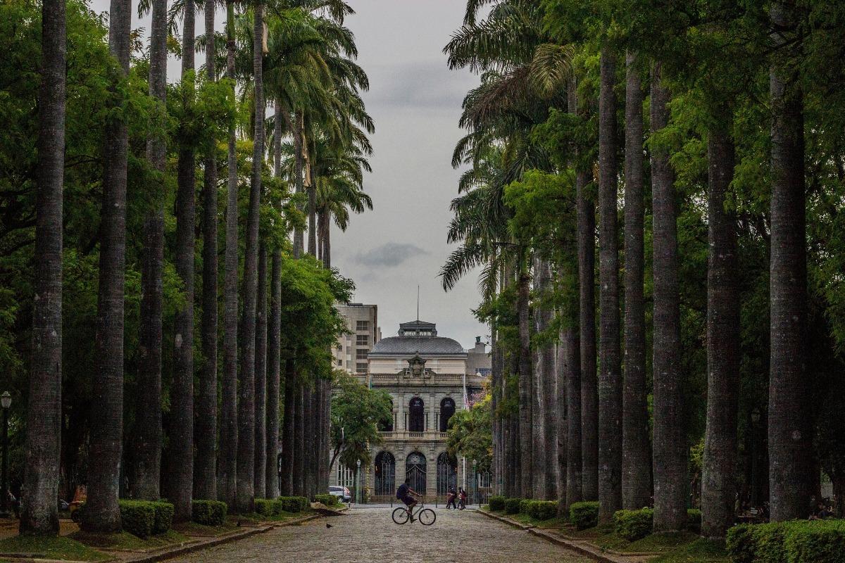 Praça da Liberdade em Belo Horizonte.