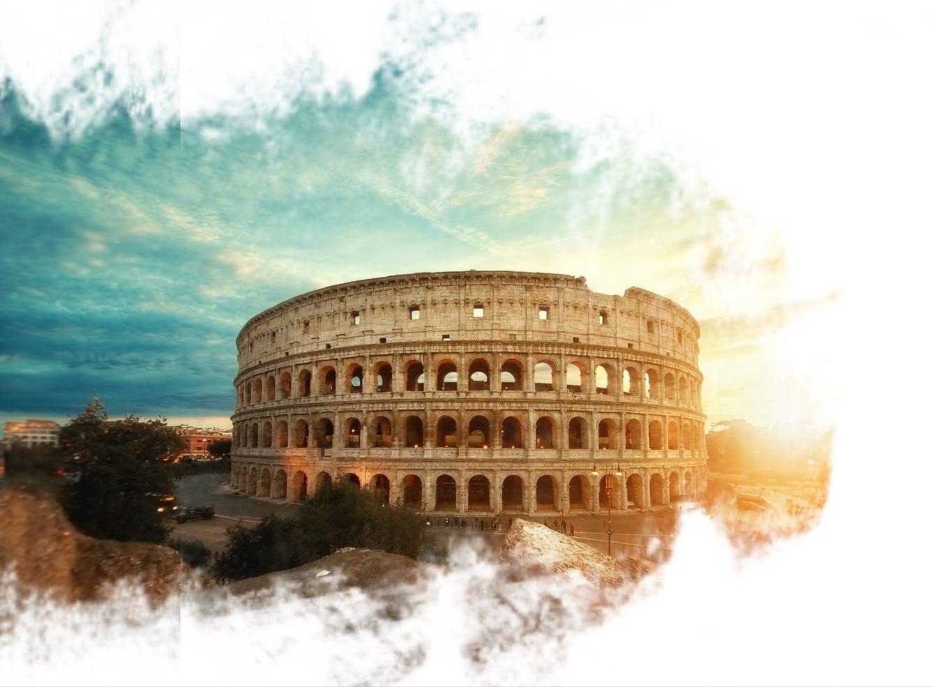 Coliseu em Roma.