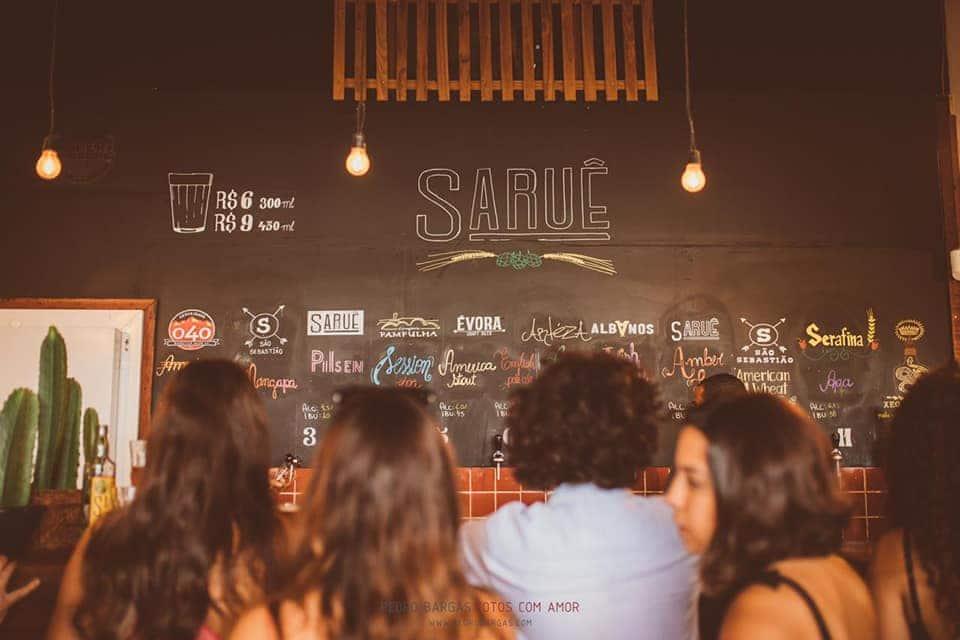 Saruê é um dos bares com preços mais democráticos de cerveja artesanal em Belo Horizonte.
