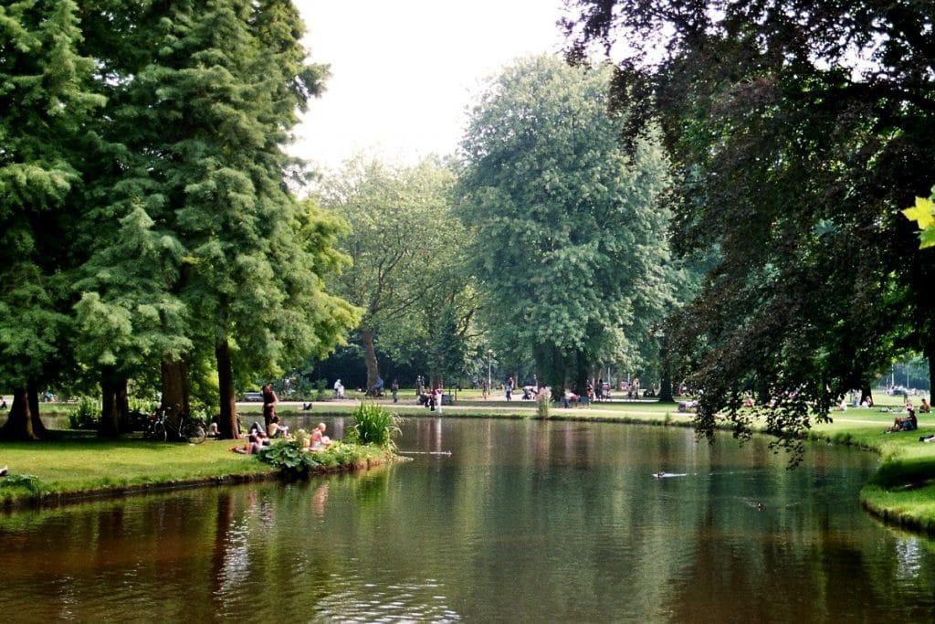 Vondelpark em Amsterdam.