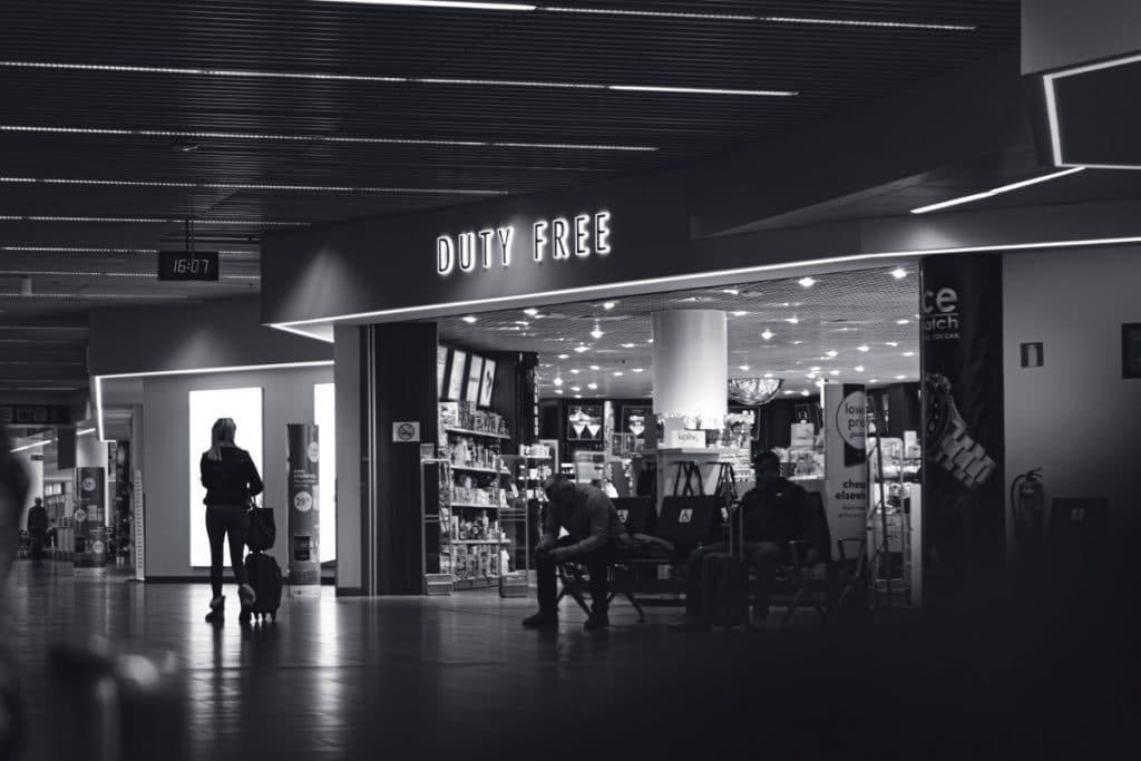 Como funcionam as compras em Free Shops?