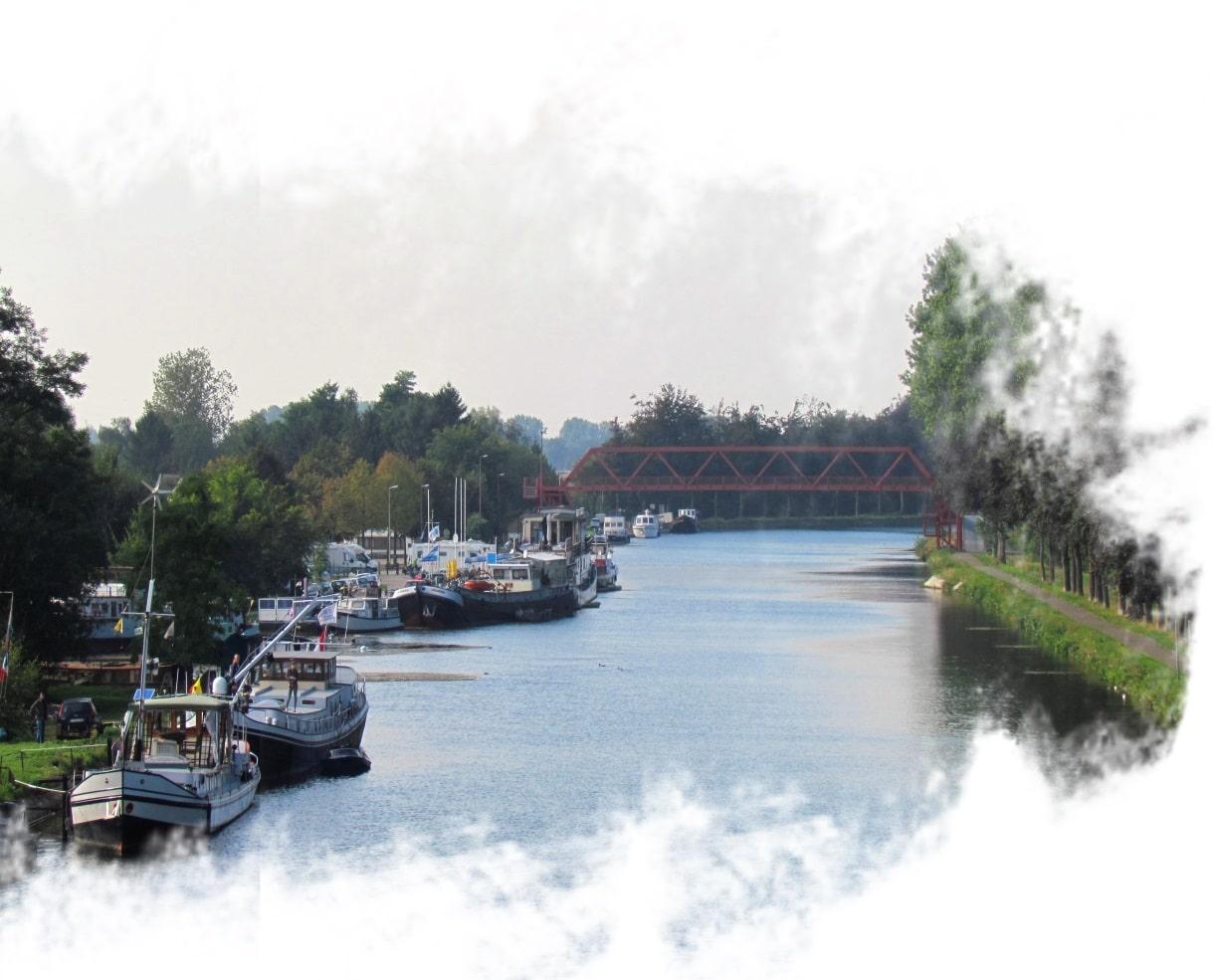 Cidade de Bocholt na Bélgica