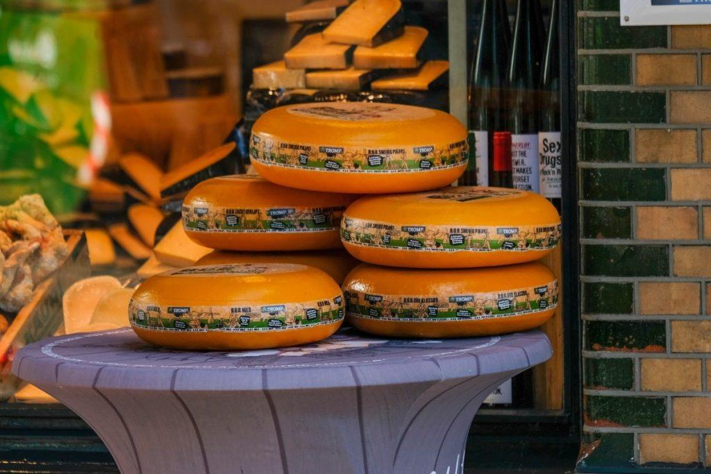 Gouda é um queijo típico holandês