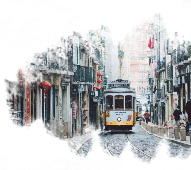 Bondinho em Lisboa