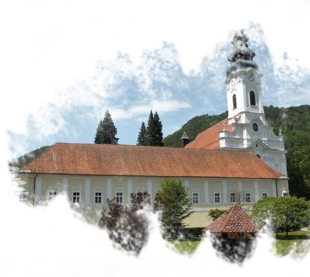 Abadia onde está a cervejaria Trapista Stift Engelszell