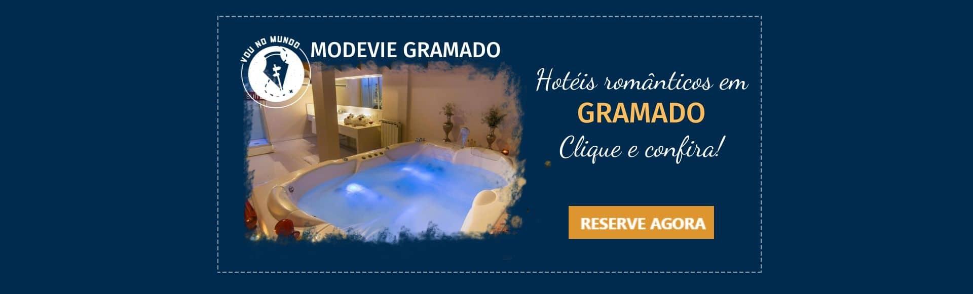 Hotel Modevie em Gramado, Rio Grande do Sul.