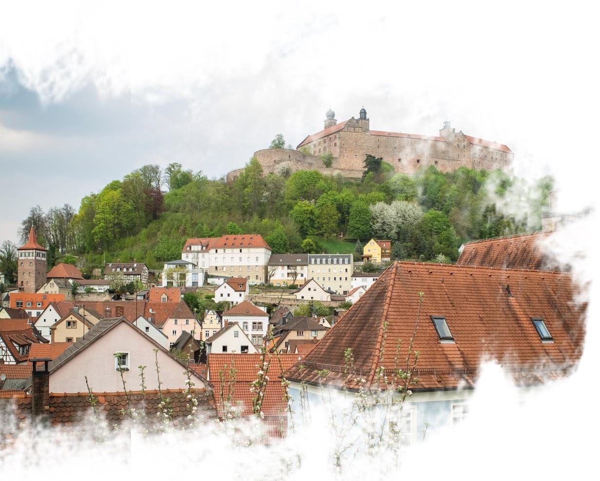 Kulmbach na Baviera, sul da Alemanha.