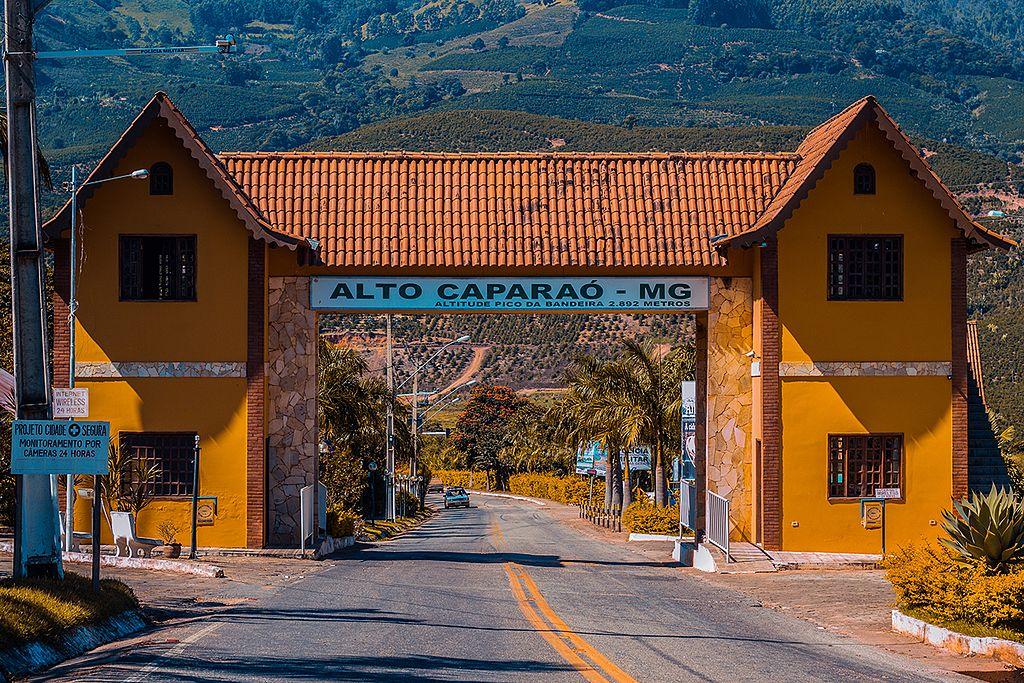 Alto Caparaó, próxima ao Pico da Bandeira em Minas Gerais.