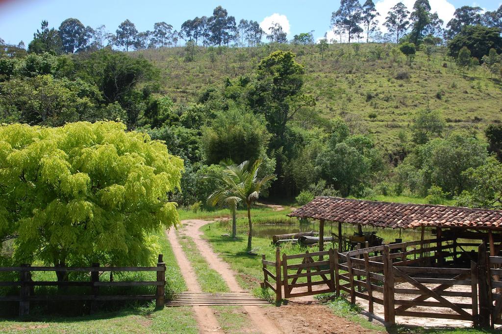 Área Verde da pousada Chalés de Minas Hotel Fazenda em Caxambu, MG.