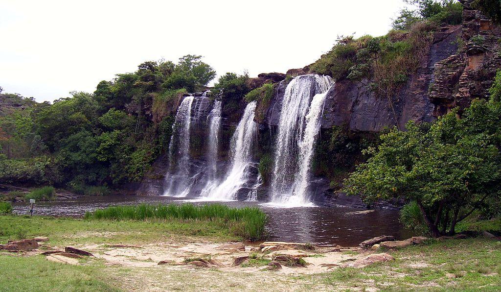 Cachoeira da Fumaça em Carrancas, Minas Gerais.