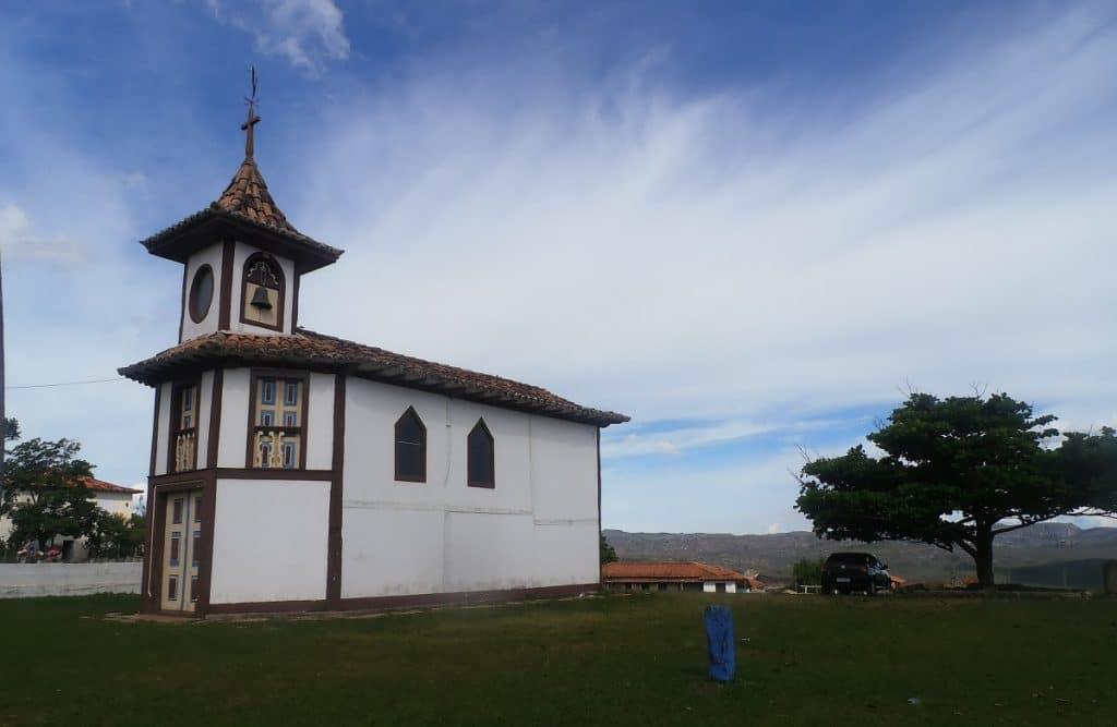Capela do Rosário em Milho Verde, MG.