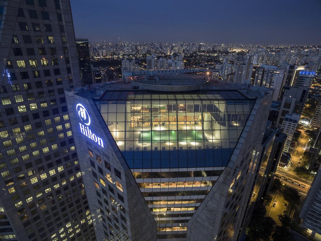 Hotel Hilton Morumbi, em São Paulo.