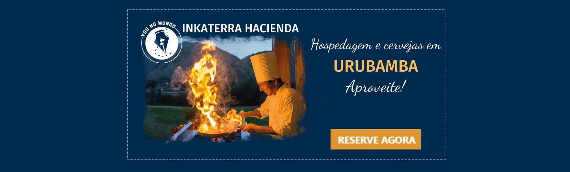 Hotel Inkaterra Hacienda, próximo a Macchu Picchu, em Urubamba, Peru.