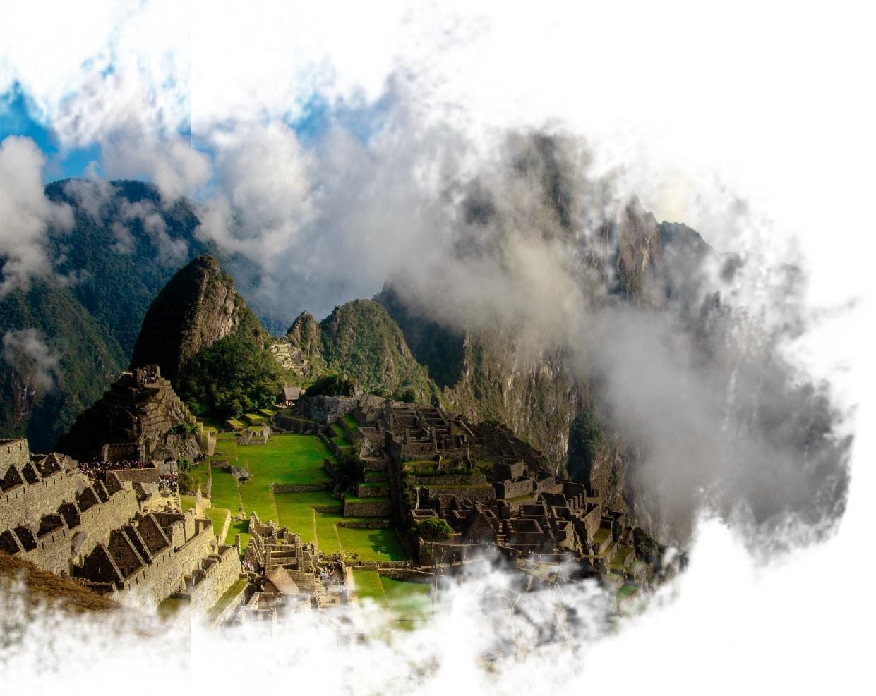 Macchu Picchu, no Peru.