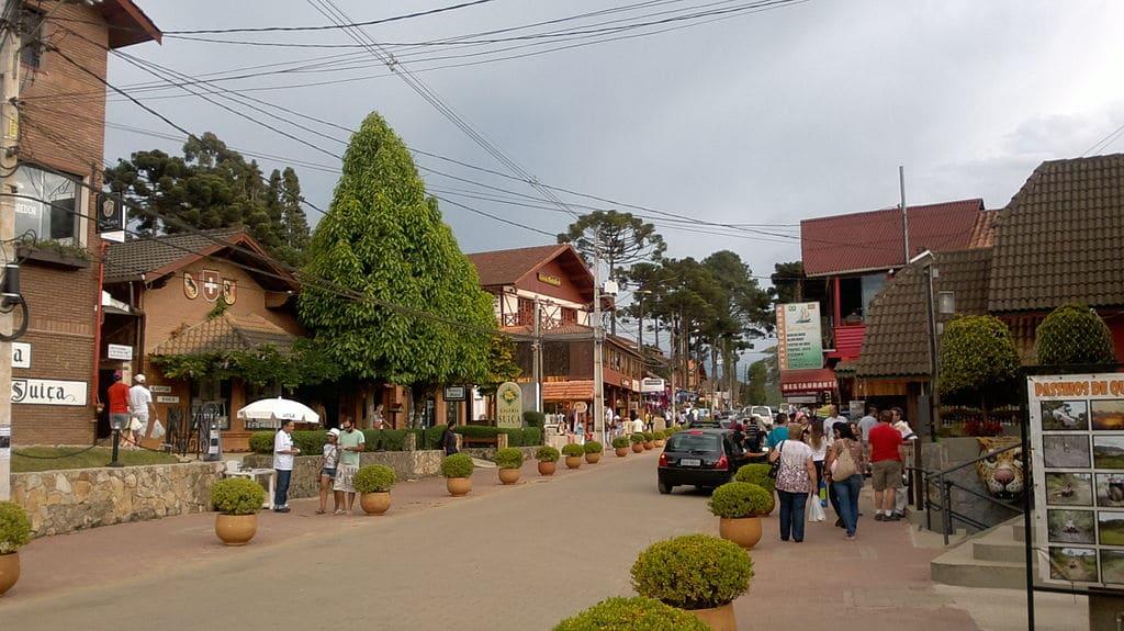 Monte Verde em Minas Gerais.