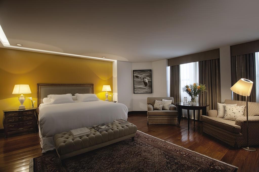 Suíte Presidencial do hotel Ouro Minas em Belo Horizonte.