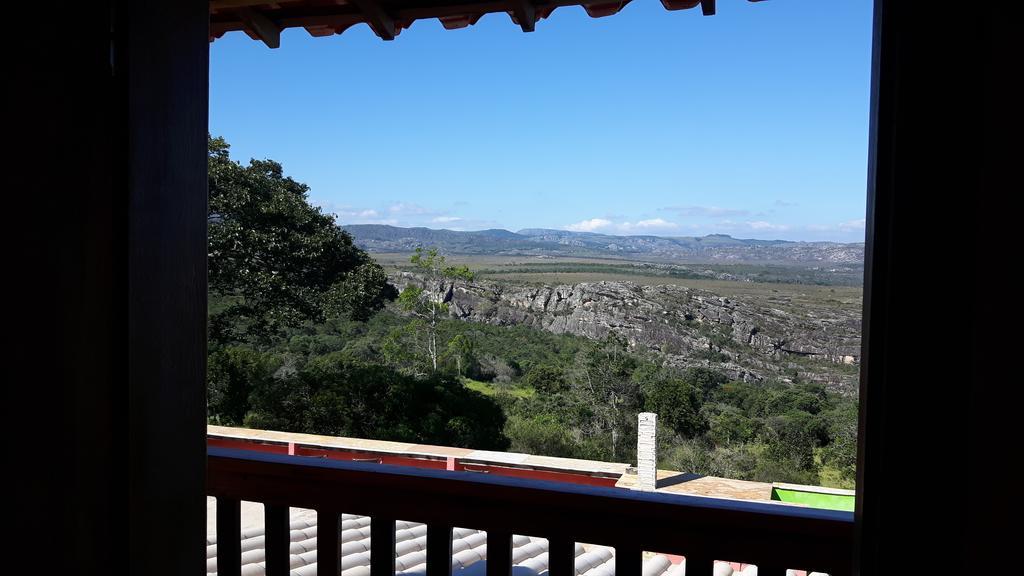 Vista de um dos quartos da Pousada Cachoeiras de Milho Verde