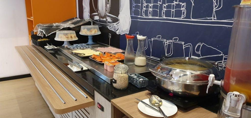 Café da manhã do Hotel em Barbacena.