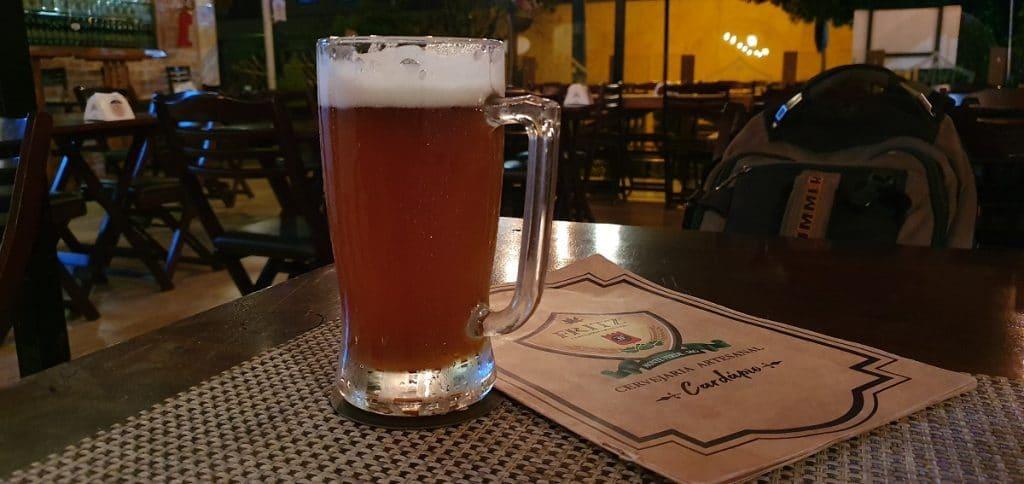 Köelsch na cervejaria Fritz em Monte Verde, MG.