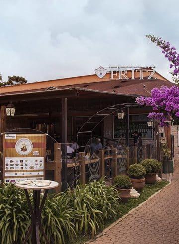 Cervejaria Fritz em Monte Verde, MG.