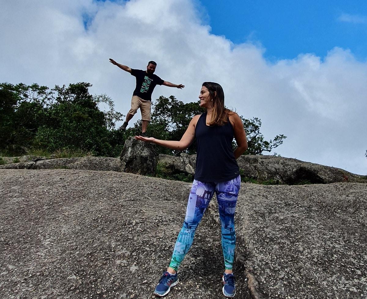 Foto na Pedra Redonda.