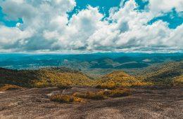 Topo da Pedra Redonda em Monte Verde, MG.