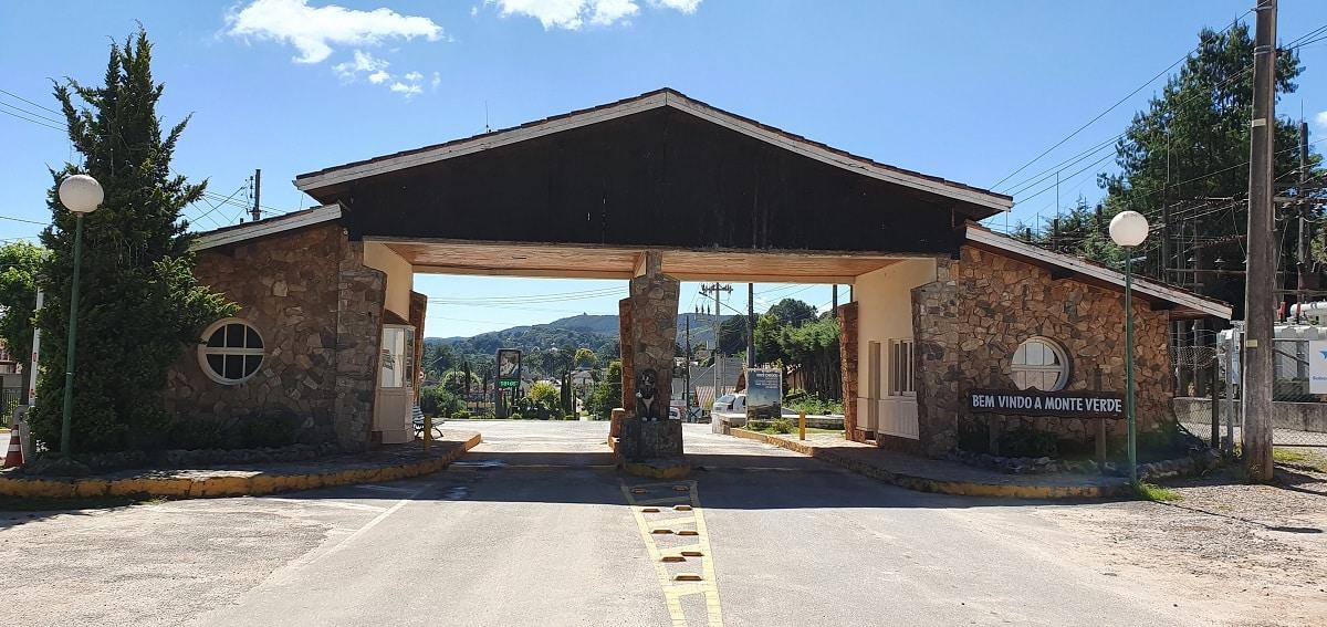 Portal de entrada de Monte Verde, MG